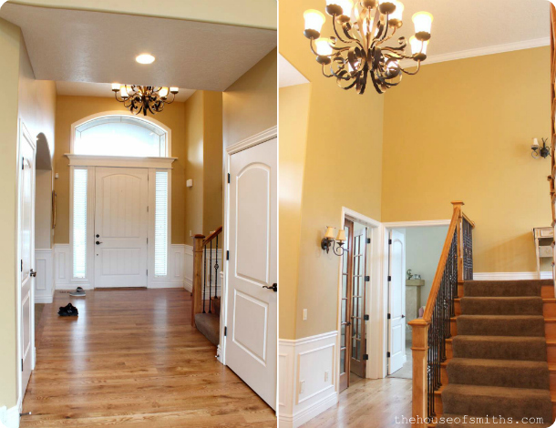 Cason's Parents House - Beautiful moldings - thehouseofsmiths.com