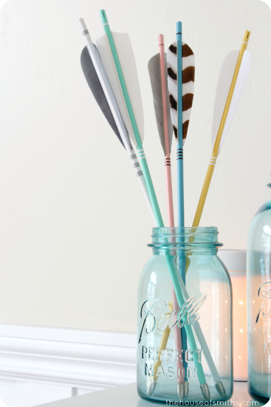 girly arrow decor - thehouseofsmiths.com