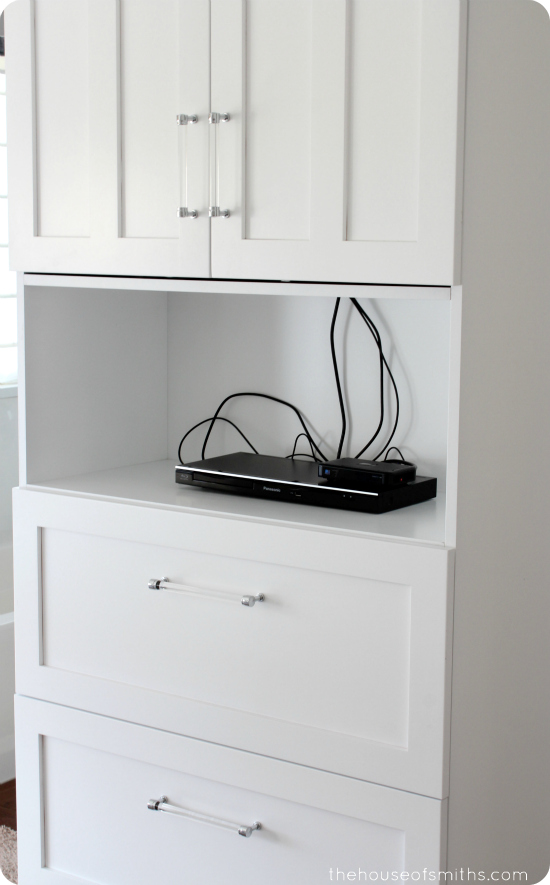 Master Bedroom TV cabinet - thehouseofsmiths.com