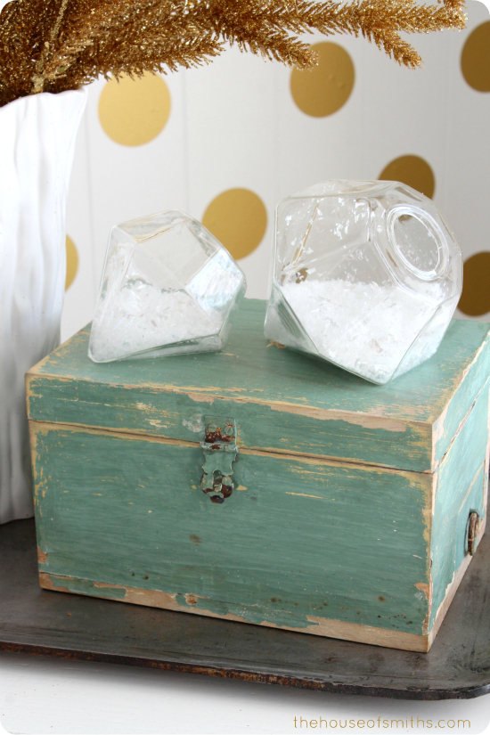 glass diamond sculptures